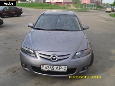Автомобильный рынок Беларуси Mazda 6 Мазда