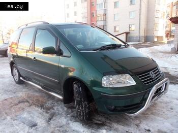 Автомобильный рынок Белоруссии Volkswagen Sharan Фольксваген Шаран